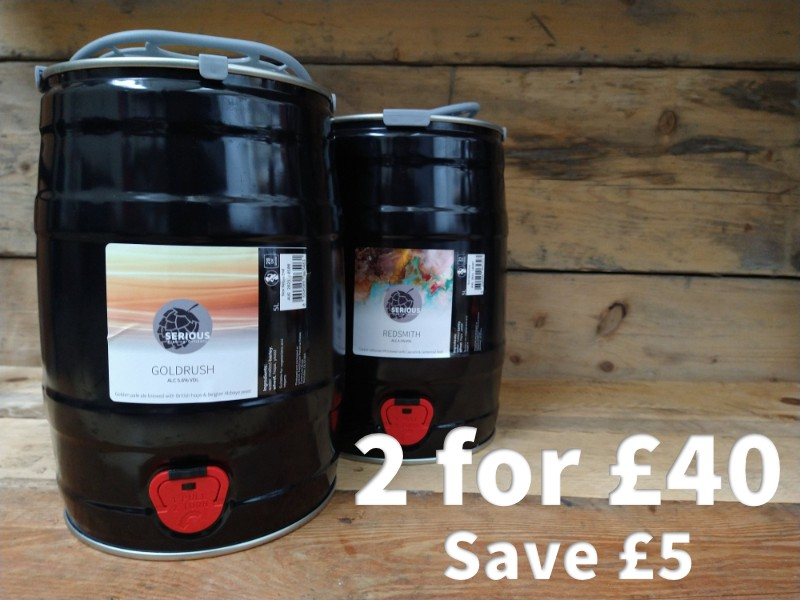 Any 2 mini casks for £40, save £5